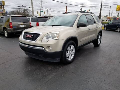 2010 GMC Acadia for sale at Rucker's Auto Sales Inc. in Nashville TN