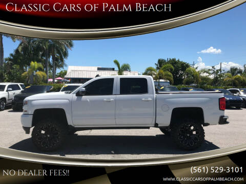 2016 Chevrolet Silverado 1500 for sale at Classic Cars of Palm Beach in Jupiter FL