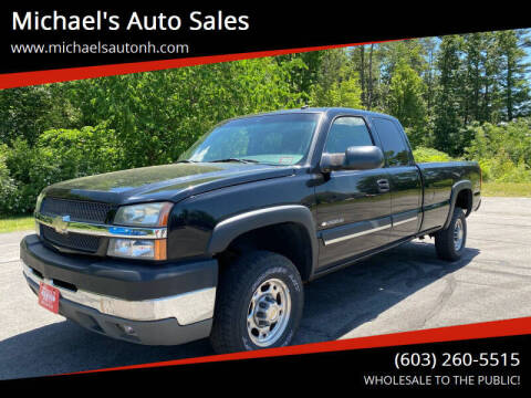 2003 Chevrolet Silverado 2500HD for sale at Michael's Auto Sales in Derry NH