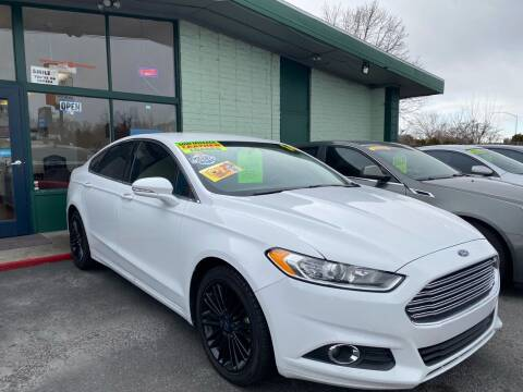 2014 Ford Fusion for sale at TDI AUTO SALES in Boise ID