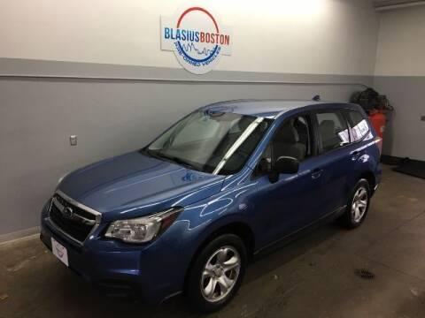 2018 Subaru Forester for sale at WCG Enterprises in Holliston MA