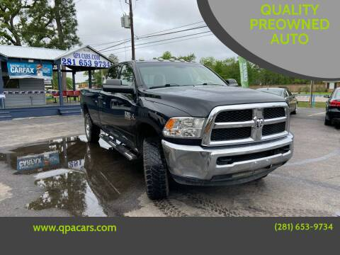 2017 RAM Ram Pickup 3500 for sale at QUALITY PREOWNED AUTO in Houston TX