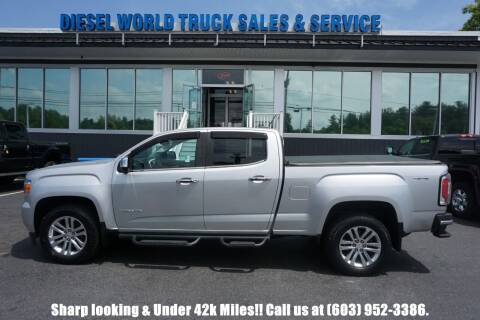 2017 GMC Canyon for sale at Diesel World Truck Sales in Plaistow NH