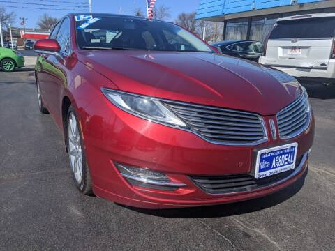 2015 Lincoln MKZ Hybrid for sale at GREAT DEALS ON WHEELS in Michigan City IN