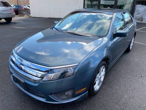 2012 Ford Fusion for sale at MAGIC AUTO SALES in Little Ferry NJ
