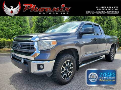 2014 Toyota Tundra for sale at Phoenix Motors Inc in Raleigh NC