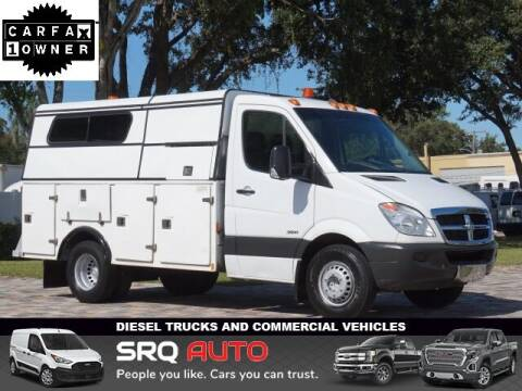 2013 Freightliner Sprinter 3500 for sale at SRQ Auto LLC in Bradenton FL