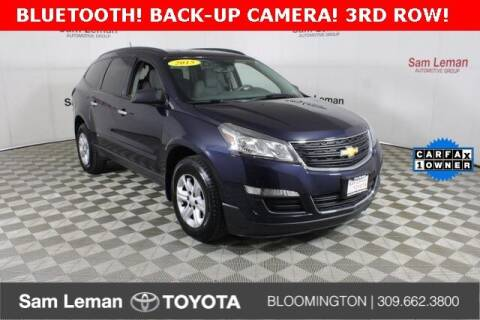 2015 Chevrolet Traverse for sale at Sam Leman Toyota Bloomington in Bloomington IL