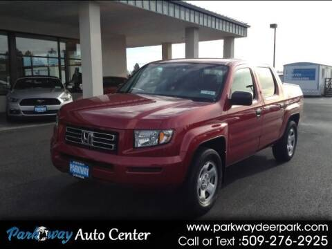 2006 Honda Ridgeline for sale at PARKWAY AUTO CENTER AND RV in Deer Park WA