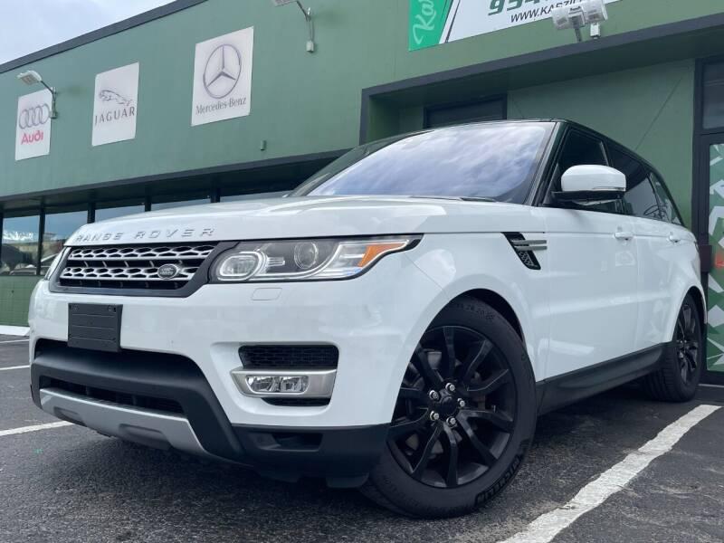 2017 Land Rover Range Rover Sport for sale at KARZILLA MOTORS in Oakland Park FL