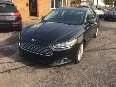 2013 Ford Fusion Hybrid for sale at Payless Auto Sales LLC in Cleveland OH