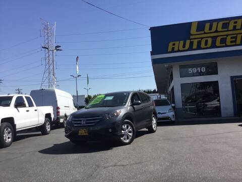 2012 Honda CR-V for sale at Lucas Auto Center in South Gate CA