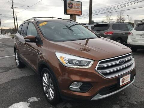 2017 Ford Escape for sale at Cars 4 Grab in Winchester VA