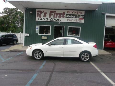 2007 Pontiac G6 for sale at R's First Motor Sales Inc in Cambridge OH