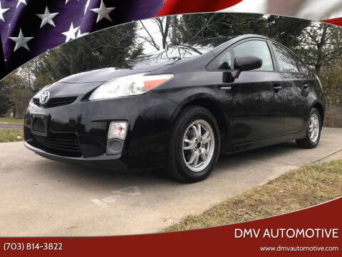 2010 Toyota Prius for sale at DMV Automotive in Falls Church VA