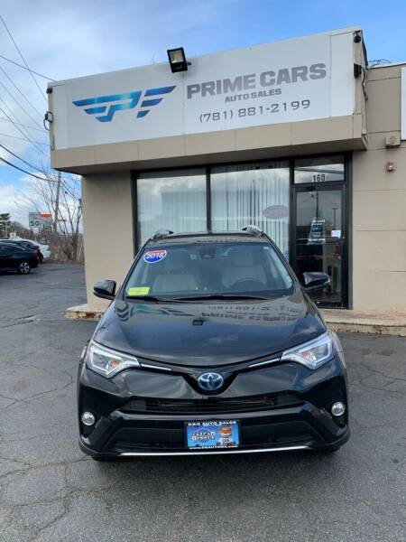 2016 Toyota RAV4 Hybrid for sale at Prime Cars Auto Sales in Saugus MA