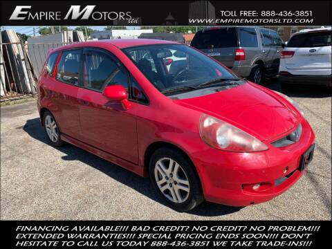 2007 Honda Fit for sale at Empire Motors LTD in Cleveland OH
