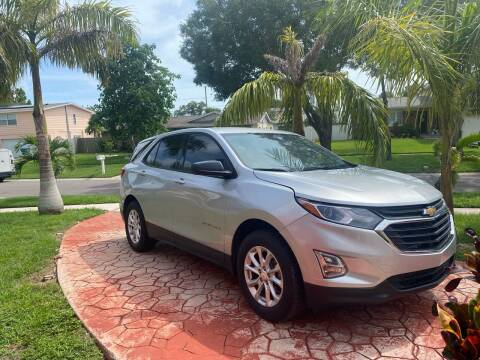 2018 Chevrolet Equinox for sale at ONYX AUTOMOTIVE, LLC in Largo FL