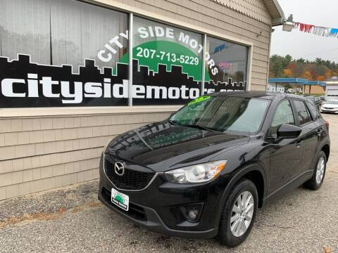 2014 Mazda CX-5 for sale at CITY SIDE MOTORS in Auburn ME