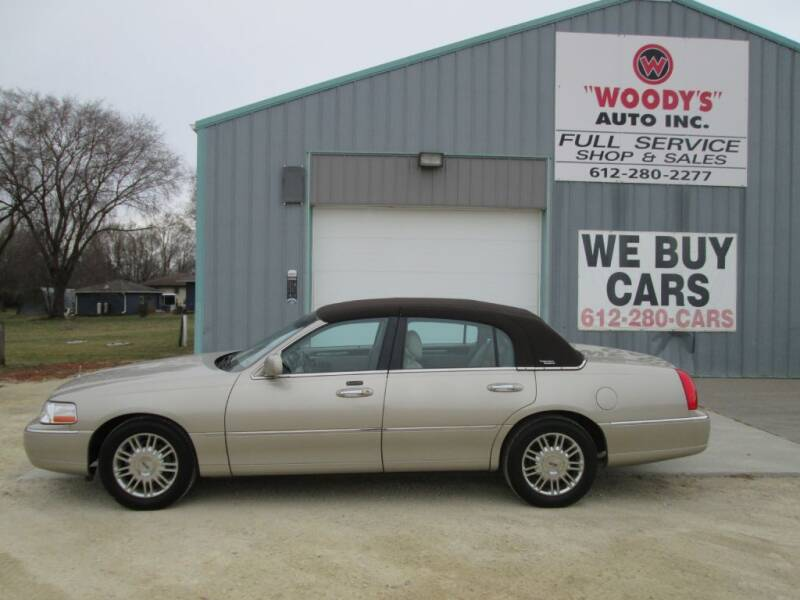 2009 Lincoln Town Car for sale at Woody's Auto Sales Inc in Randolph MN