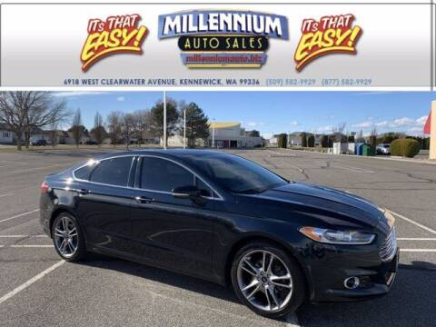 2014 Ford Fusion for sale at Millennium Auto Sales in Kennewick WA