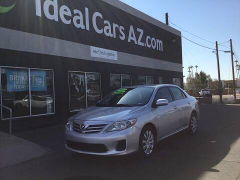 2013 Toyota Corolla for sale at Ideal Cars Broadway in Mesa AZ