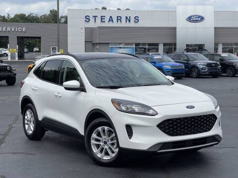 2021 Ford Escape Hybrid for sale at Stearns Ford in Burlington NC