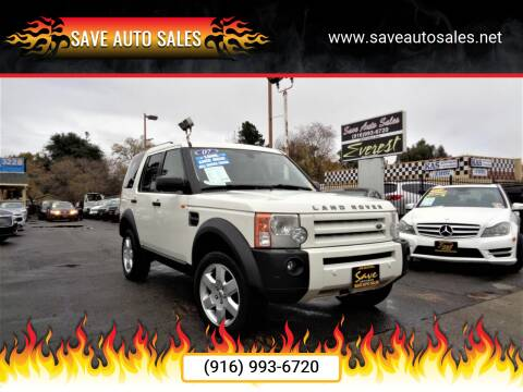 2007 Land Rover LR3 for sale at Save Auto Sales in Sacramento CA
