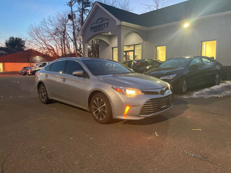 2016 Toyota Avalon for sale at Mr. Minivans Auto Sales - Priority Auto Mall in Lakewood NJ