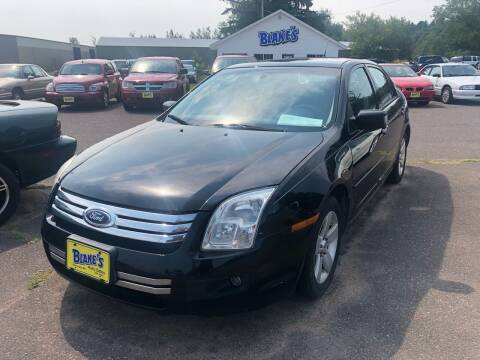 2007 Ford Fusion for sale at Blakes Auto Sales in Rice Lake WI