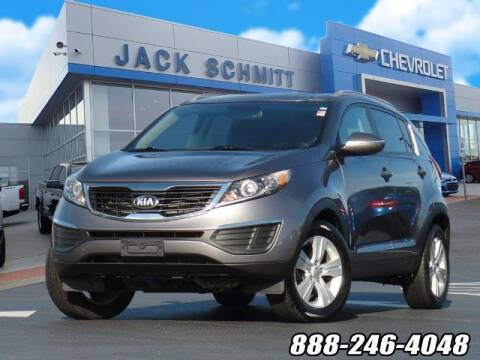 2013 Kia Sportage for sale at Jack Schmitt Chevrolet Wood River in Wood River IL