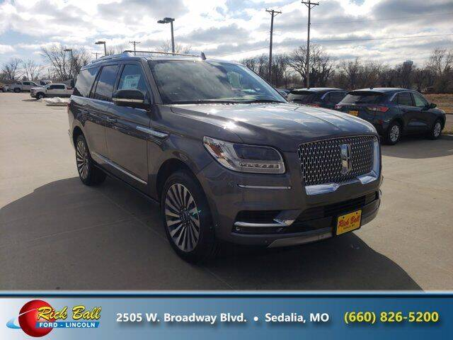 2021 Lincoln Navigator for sale at RICK BALL FORD in Sedalia MO