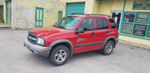 2003 Chevrolet Tracker for sale at Stewart Auto Sales Inc in Central City NE