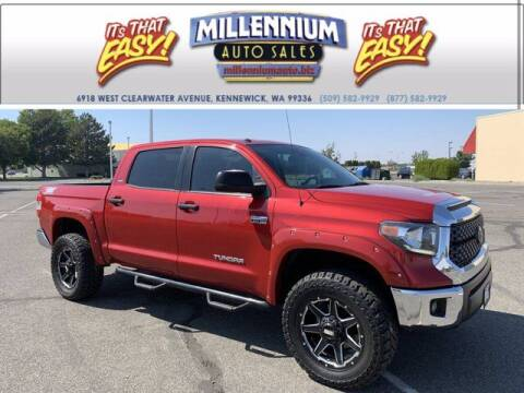 2018 Toyota Tundra for sale at Millennium Auto Sales in Kennewick WA