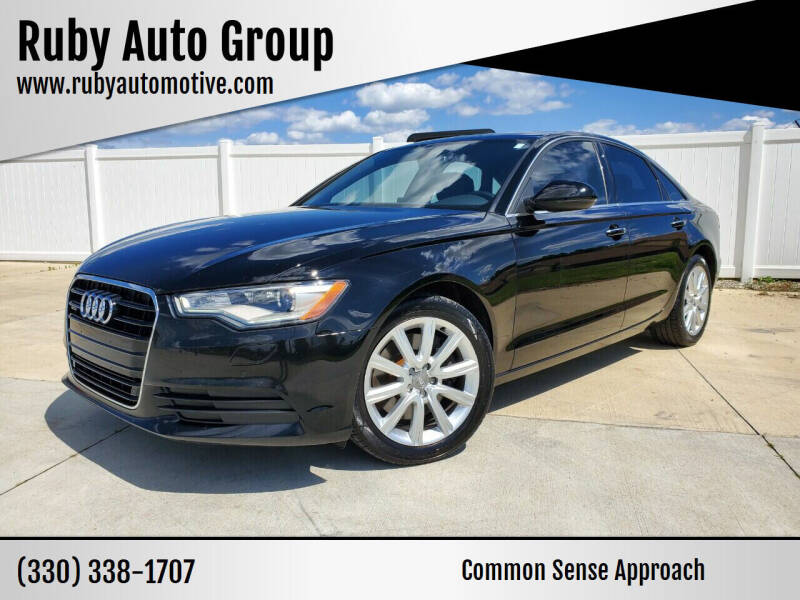 2015 Audi A6 for sale at Ruby Auto Group in Hudson OH