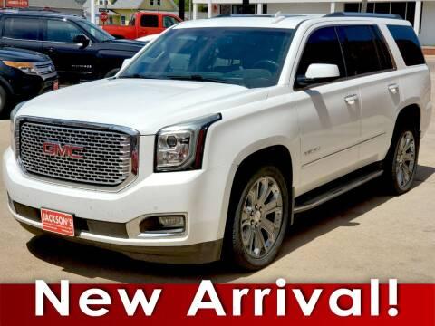 2015 GMC Yukon for sale at Jacksons Car Corner Inc in Hastings NE