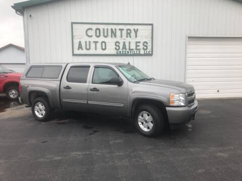 2009 Chevrolet Silverado 1500 for sale at COUNTRY AUTO SALES LLC in Greenville OH
