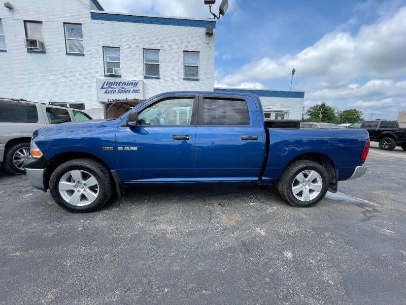 2009 Dodge Ram Pickup 1500 for sale at Lightning Auto Sales in Springfield IL