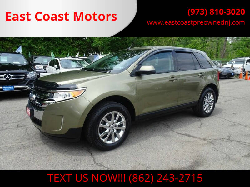 2013 Ford Edge for sale at East Coast Motors in Lake Hopatcong NJ