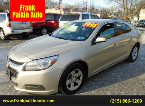 2016 Chevrolet Malibu Limited for sale at Frank Paikin Auto in Glenside PA