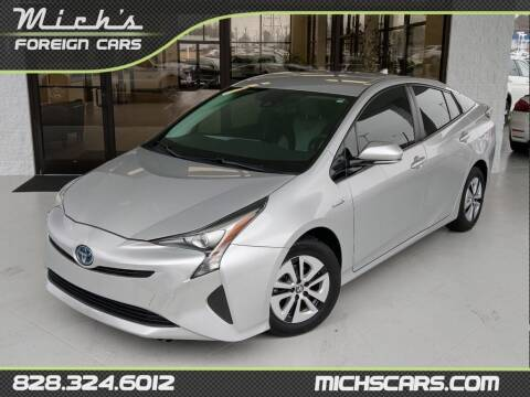 2017 Toyota Prius for sale at Mich's Foreign Cars in Hickory NC