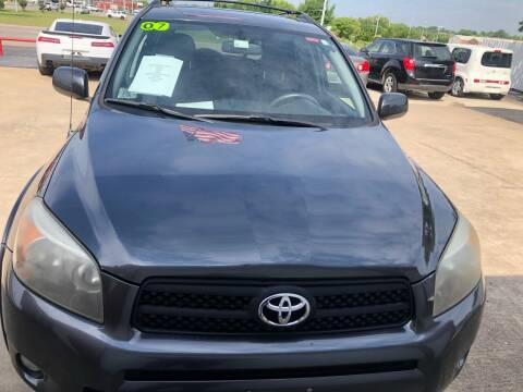 2007 Toyota RAV4 for sale at Moore Imports Auto in Moore OK