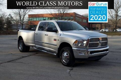2010 Dodge Ram Pickup 3500 for sale at World Class Motors LLC in Noblesville IN
