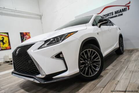 2018 Lexus RX 350 for sale at AUTO IMPORTS MIAMI in Fort Lauderdale FL
