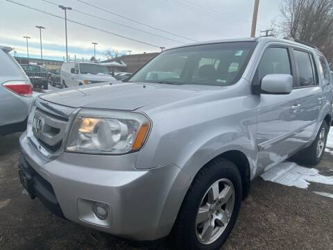 2010 Honda Pilot for sale at Martinez Cars, Inc. in Lakewood CO