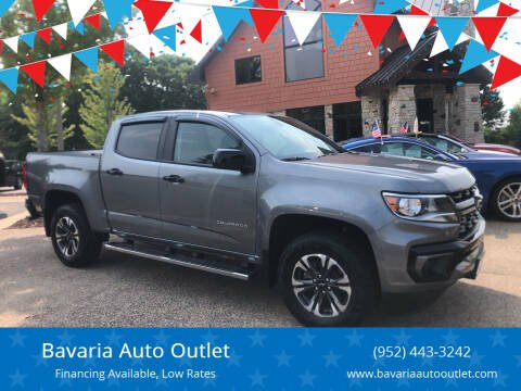 2021 Chevrolet Colorado for sale at Bavaria Auto Outlet in Victoria MN
