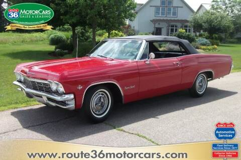 1965 Chevrolet Impala for sale at ROUTE 36 MOTORCARS in Dublin OH