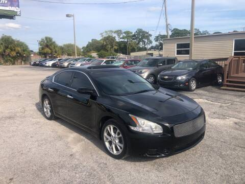2012 Nissan Maxima for sale at Friendly Finance Auto Sales in Port Richey FL