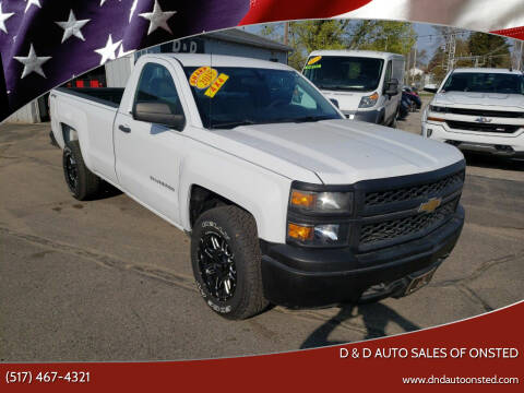 2015 Chevrolet Silverado 1500 for sale at D & D Auto Sales Of Onsted in Onsted MI