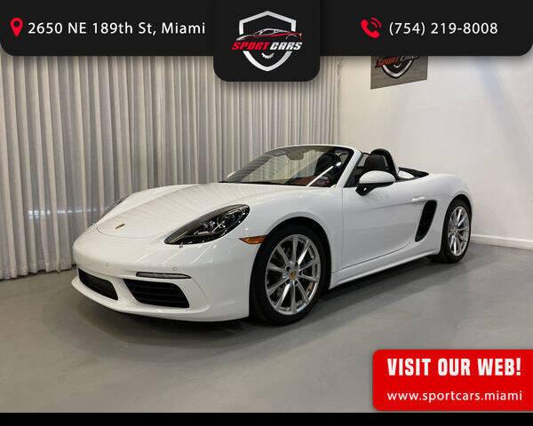 2017 Porsche 718 Boxster for sale in Miami, FL